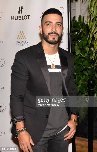 Luis Figueroa at the Magnus Sports event at Sea Spice in the Miami River on July 11 2017 in Miami Florida