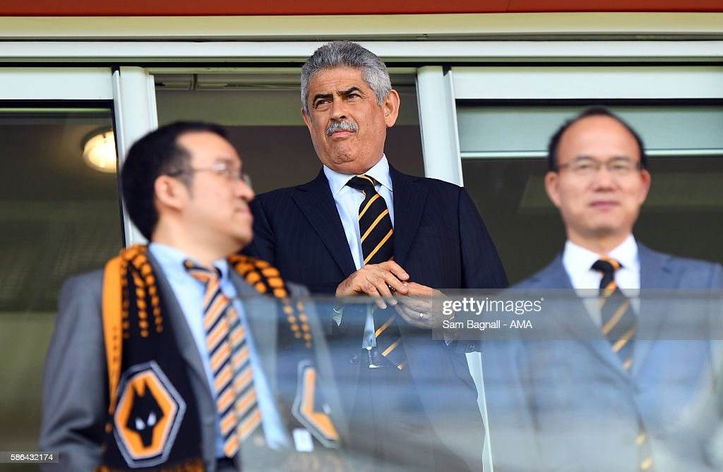Luis Filipe Vieira the President of SL Benfica during the Sky Bet Championship match between Rotherham United v Wolverhampton Wanderers at The New York Stadium on August 6, 2016 in Rotherham, England.