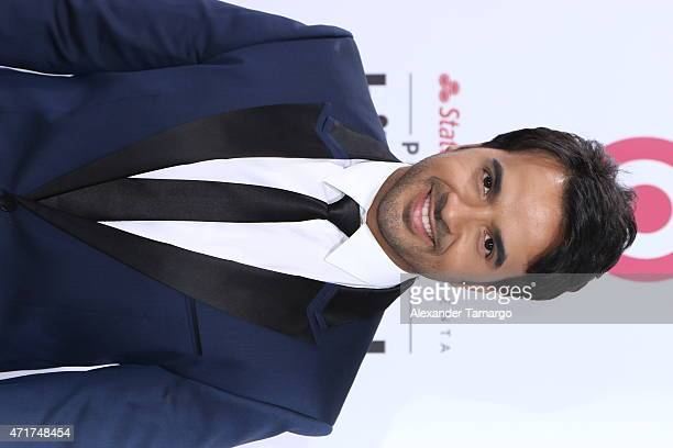 Luis Fonsi arrives at 2015 Billboard Latin Music Awards presented bu State Farm on Telemundo at Bank United Center on April 30 2015 in Miami Florida