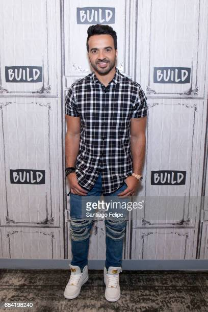 Luis Fonsi attends Build Presents at Build Studio on May 17 2017 in New York City