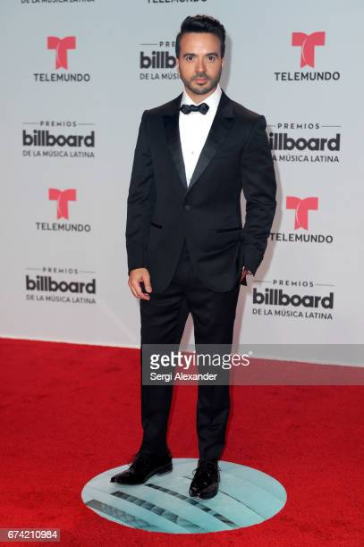 Luis Fonsi attends the Billboard Latin Music Awards at Watsco Center on April 27 2017 in Coral Gables Florida