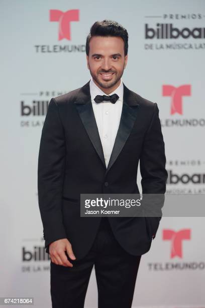 Luis Fonsi attends the Billboard Latin Music Awards at Watsco Center on April 27 2017 in Miami Florida