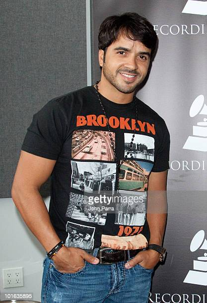Luis Fonsi attends the Florida Chapter GRAMMY GPS A Roadmap for Today's Music Biz at Gibson Miami Showroom on June 4 2010 in Miami Florida