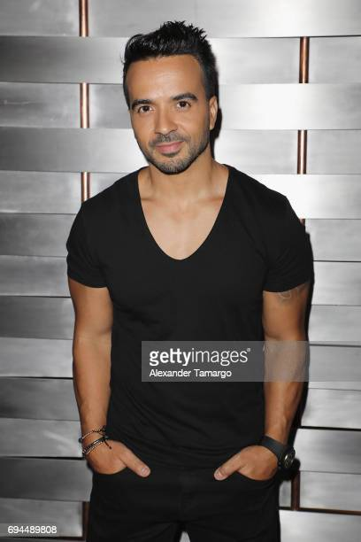 Luis Fonsi attends the iHeartSummer '17 Weekend By ATT at Fontainebleau Miami Beach on June 9 2017 in Miami Beach Florida
