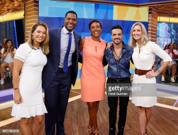 AMERICA Luis Fonsi performs his hit Despacito live on 'Good Morning America' Wednesday August 16 airing on the ABC Television Network GINGER