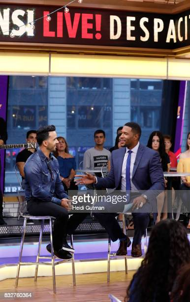 AMERICA Luis Fonsi performs his hit Despacito live on 'Good Morning America' Wednesday August 16 airing on the ABC Television Network LUIS