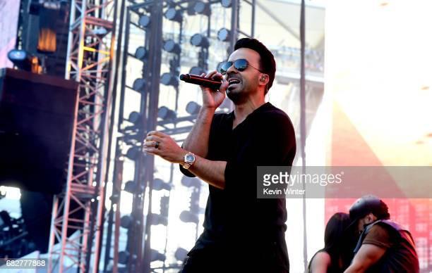 Luis Fonsi performs onstage during 1027 KIIS FM's 2017 Wango Tango at StubHub Center on May 13 2017 in Carson California