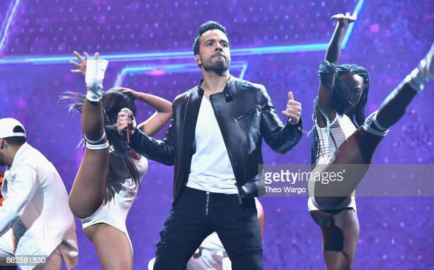 Luis Fonsi performs onstage during TIDAL X Brooklyn at Barclays Center of Brooklyn on October 17 2017 in New York City