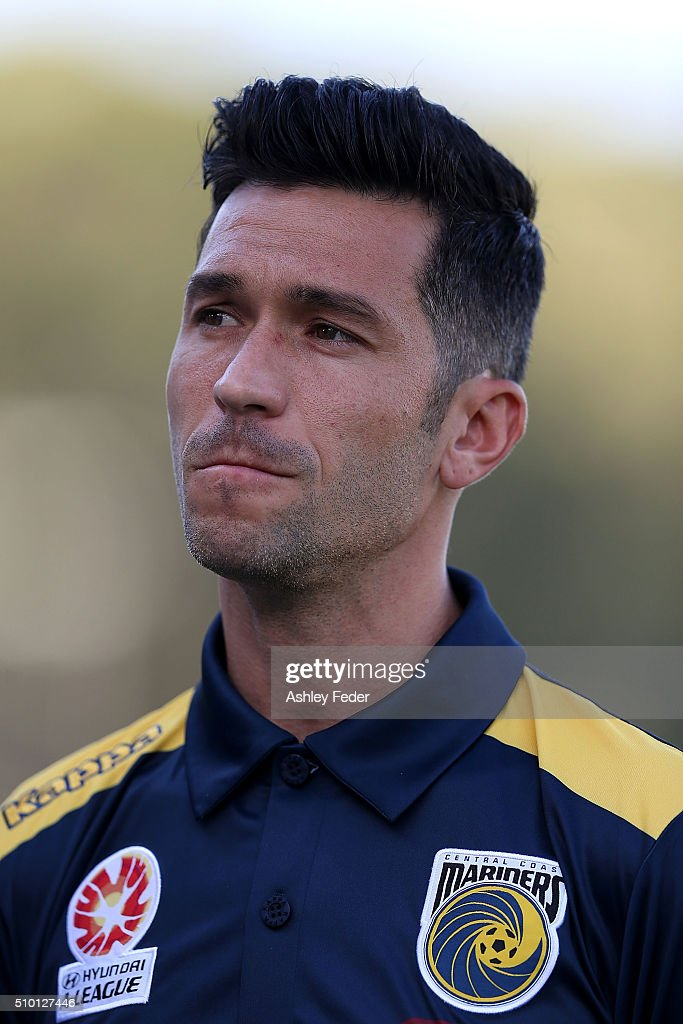Luis Garcia of the Mariners looks on during the round 19 A-League match between the Central Coast Mariners and Adelaide United at Central Coast Stadium on February 14, 2016 in Gosford, Australia.