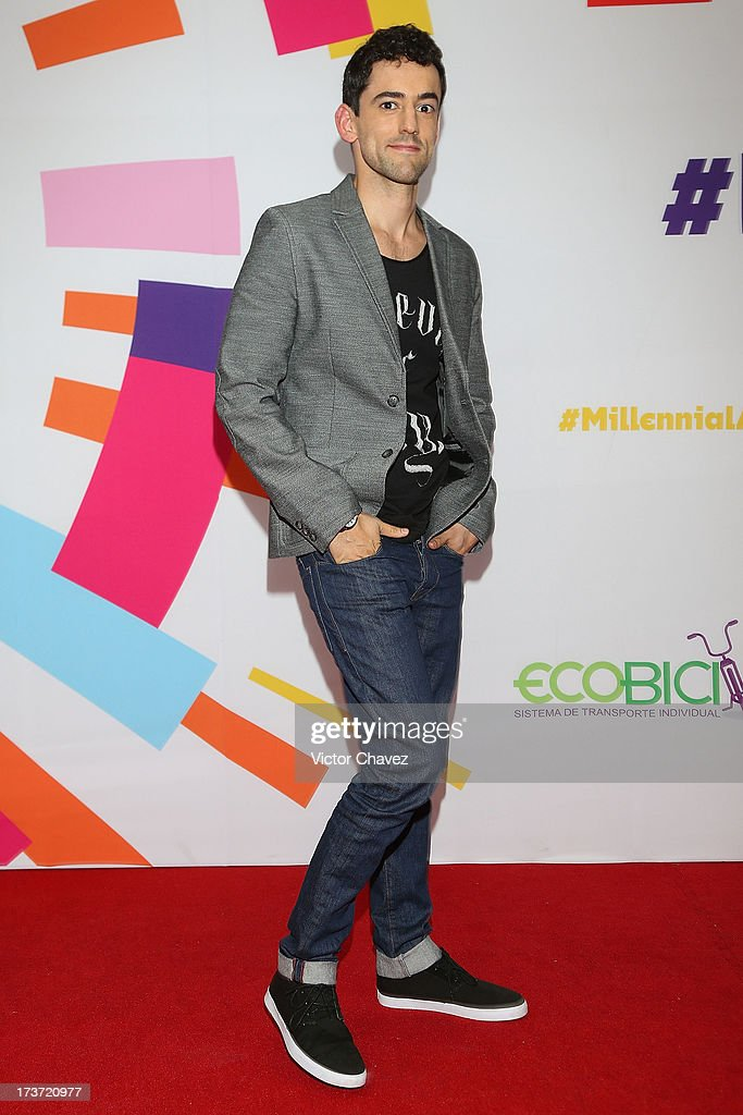 Luis Gerardo Mendez attends the MTV Millennial Awards 2013 at Foro Corona on July 16, 2013 in Mexico City, Mexico.