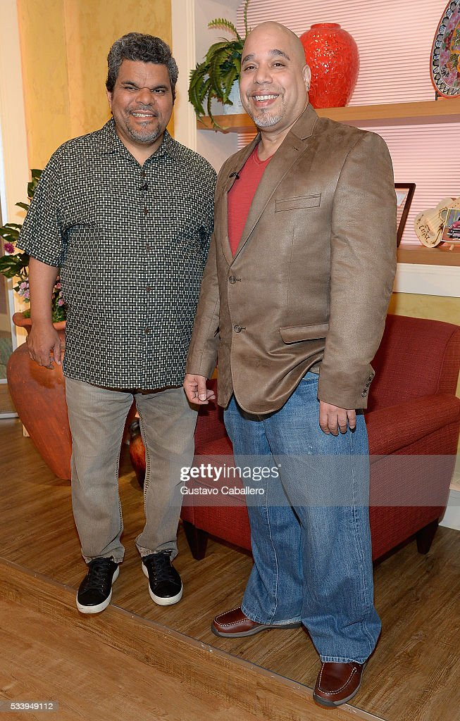 <a gi-track='captionPersonalityLinkClicked' href=/galleries/search?phrase=Luis+Guzman+-+Acteur&family=editorial&specificpeople=220768 ng-click='$event.stopPropagation()'>Luis Guzman</a> and Edgar Garcia is on the set of Univision's 'Despierta America' at Univision Studios on May 24, 2016 in Miami, Florida.
