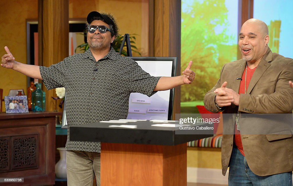 <a gi-track='captionPersonalityLinkClicked' href=/galleries/search?phrase=Luis+Guzman+-+Actor&family=editorial&specificpeople=220768 ng-click='$event.stopPropagation()'>Luis Guzman</a> and Edgar Garcia is on the set of Univision's 'Despierta America' at Univision Studios on May 24, 2016 in Miami, Florida.