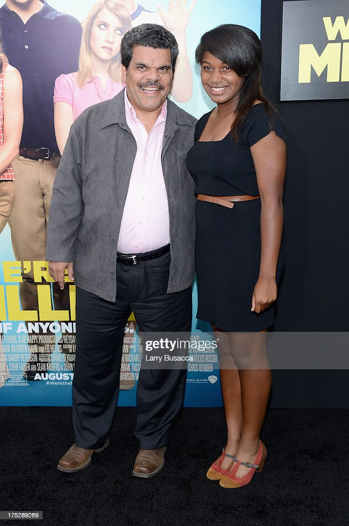 Luis Guzman (L) and Margarita Briggs Guzman attend the 'We're The Millers' New York Premiere at Ziegfeld Theater on August 1, 2013 in New York City.