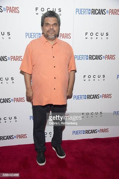 Luis Guzman attends the New York Screening of 'Puerto Ricans In Paris' at Landmark's Sunshine Cinema on June 6 2016 in New York City