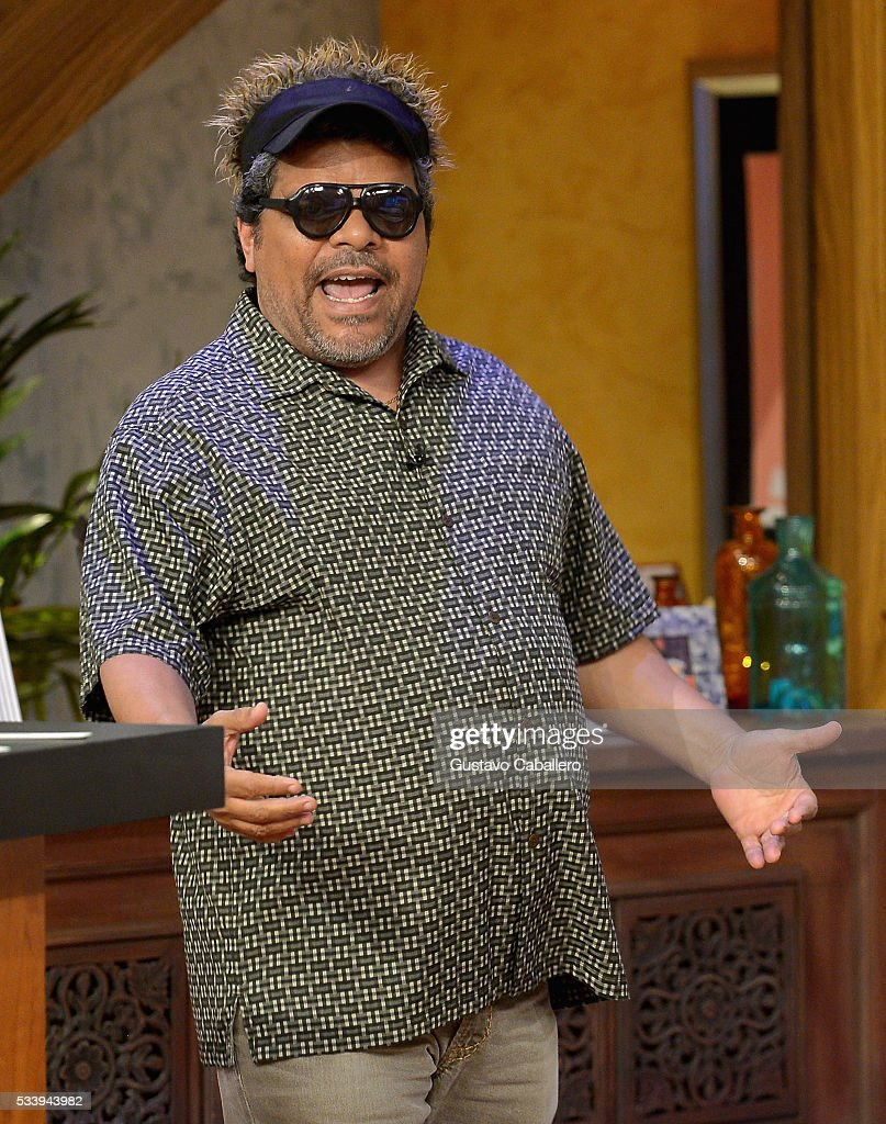 <a gi-track='captionPersonalityLinkClicked' href=/galleries/search?phrase=Luis+Guzman+-+Actor&family=editorial&specificpeople=220768 ng-click='$event.stopPropagation()'>Luis Guzman</a> is on the set of Univision's 'Despierta America' at Univision Studios on May 24, 2016 in Miami, Florida.