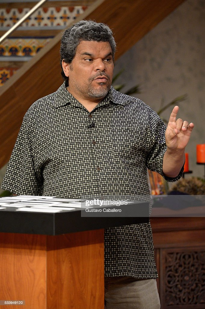 <a gi-track='captionPersonalityLinkClicked' href=/galleries/search?phrase=Luis+Guzman+-+Acteur&family=editorial&specificpeople=220768 ng-click='$event.stopPropagation()'>Luis Guzman</a> is on the set of Univision's 'Despierta America' at Univision Studios on May 24, 2016 in Miami, Florida.