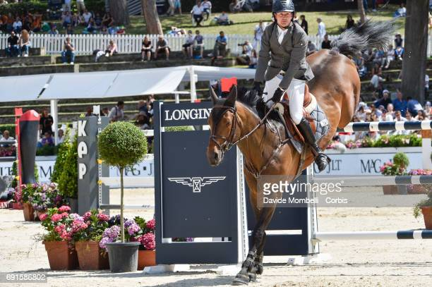 Luis Jesus of Spain riding Cosmos during the Piazza di Siena Bank Intesa Sanpaolo in the Villa Borghese on May 27 2017 in Rome Italy