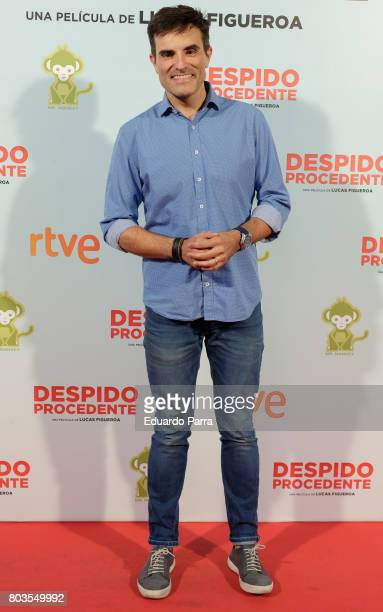 Luis Larrodera attends the 'Despido procedente' photocall at Callao cinema on June 29 2017 in Madrid Spain