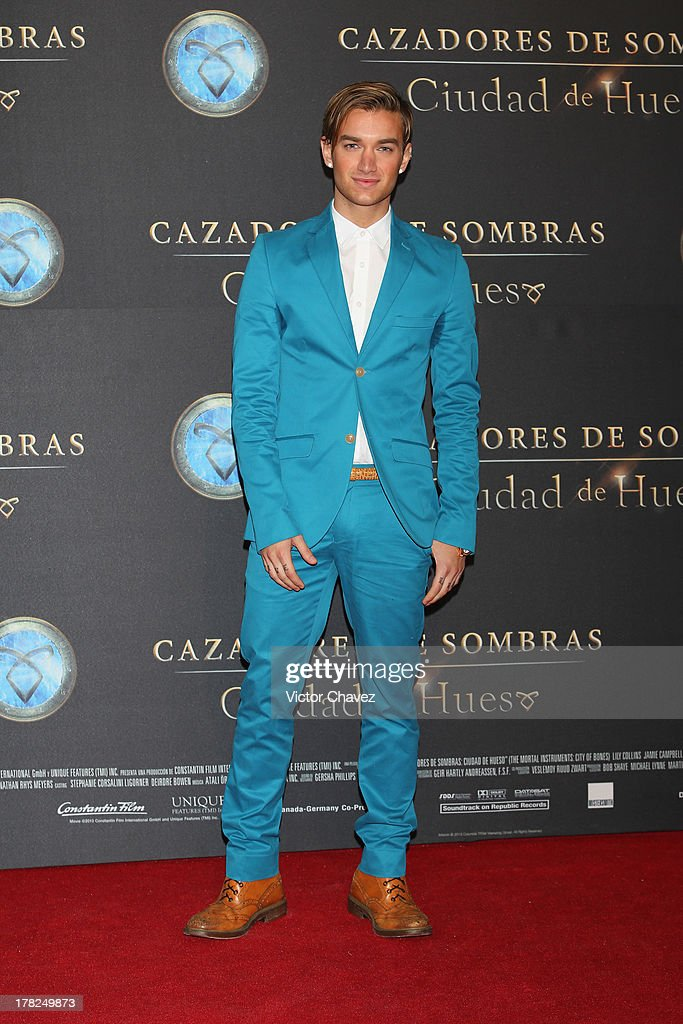 Luis Lauro attends The Mortal Instruments: City of Bones' Mexico City screening at Auditorio Nacional on August 27, 2013 in Mexico City, Mexico.