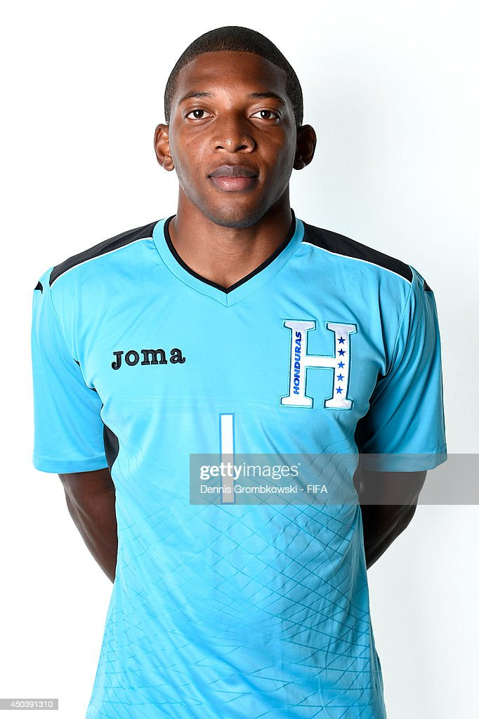 Luis Lopez of Honduras poses during the Official FIFA World Cup 2014 portrait session on June 10, 2014 in Porto Feliz, Brazil.