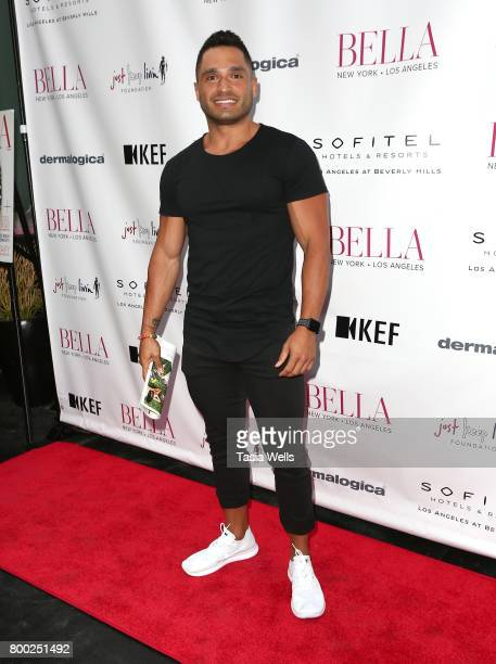 Luis Loya attends the BELLA Los Angeles Summer Issue Cover Launch Party at Sofitel Los Angeles At Beverly Hills on June 23 2017 in Los Angeles...
