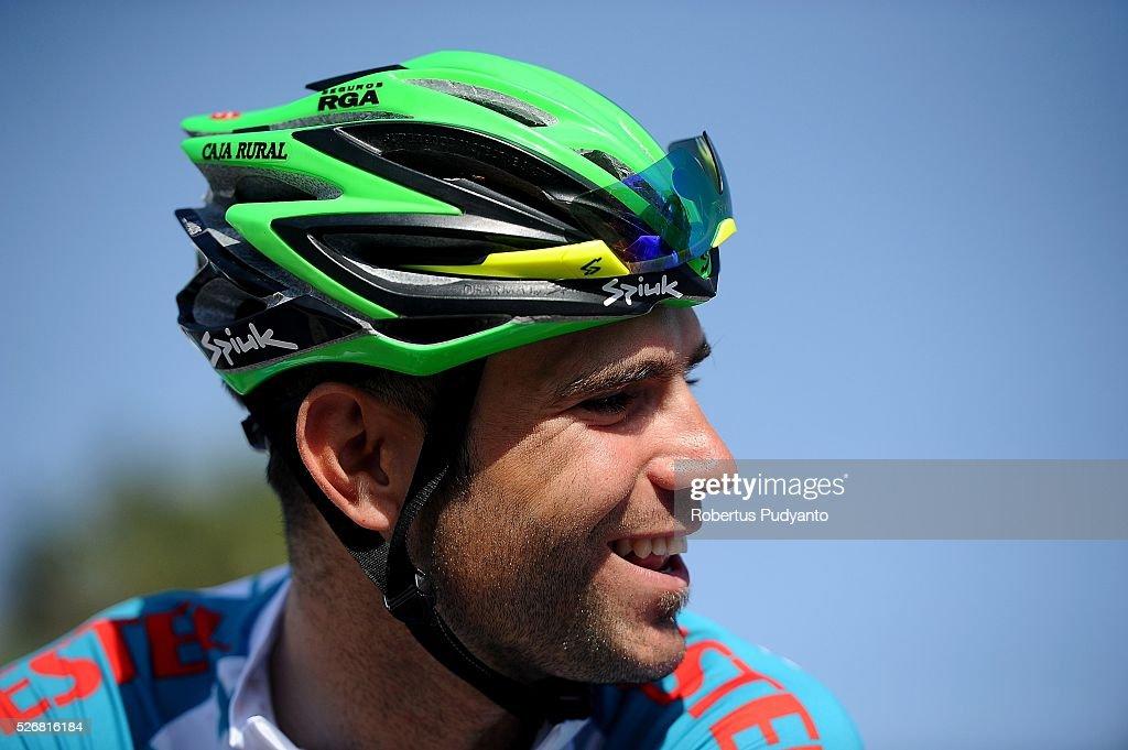 Luis Mas Bonet of Caja Rural-Seguros RGA reacts after winning White Jersey Stage 8 of the 2016 Tour of Turkey, Marmaris to Selcuk (201.5 km) on May 1, 2016 in Marmaris, Turkey.