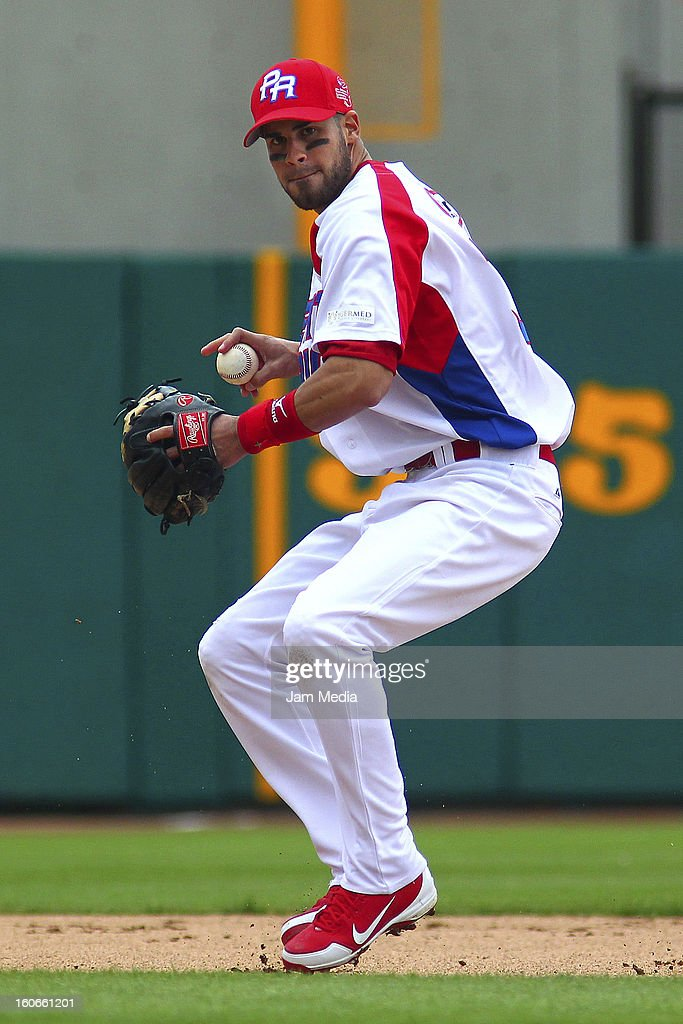 Luis Mateo of Puerto Rico in action during the Caribbean Series 2013 at Sonora Stadium on February 03, 2013 in Hermosillo, Mexico.