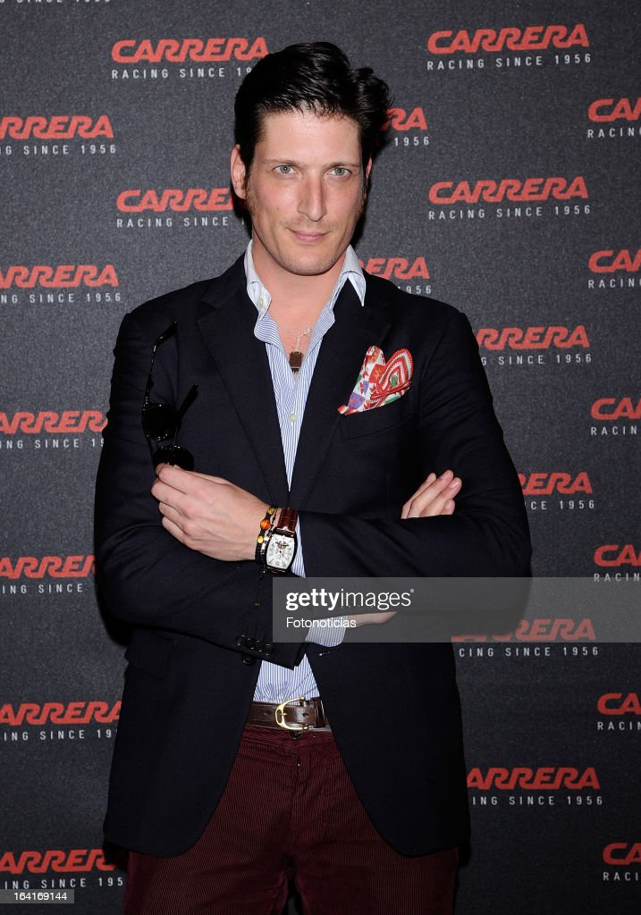 Luis Medina attends 'Carrera Ignition Night' at The Matadero on March 20, 2013 in Madrid, Spain.