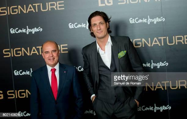 Luis Medina attends LG Signature Presentation on June 27 2017 in Madrid Spain