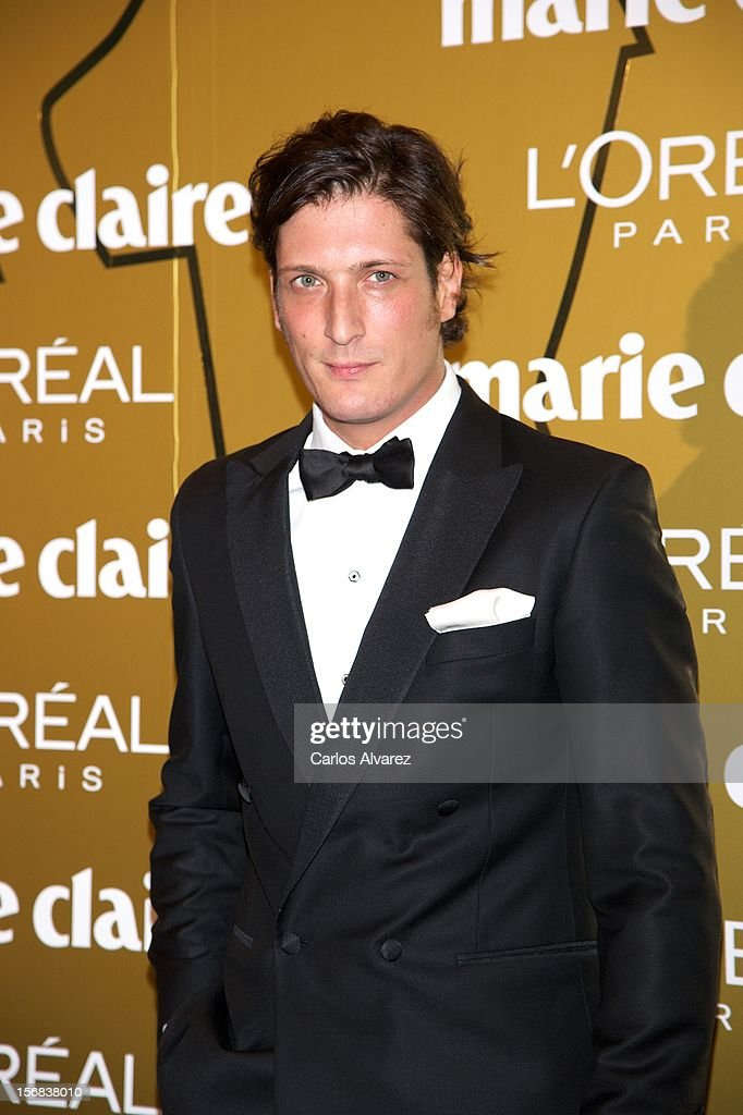 Luis Medina attends Marie Claire Prix de la Moda Awards 2012 at the French Embassy on November 22, 2012 in Madrid, Spain.