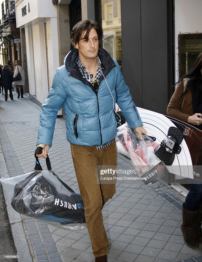 Luis Medina is seen on December 18, 2012 in Madrid, Spain.