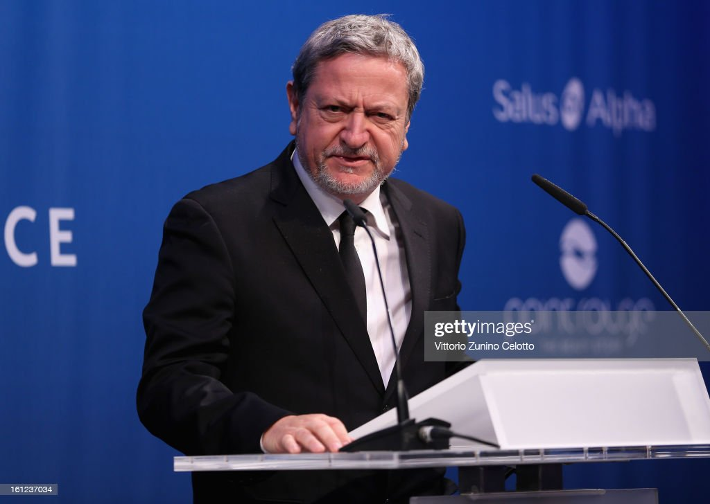 Luis Moreno Ocampo during the Cinema For Peace Gala Ceremony at the 63rd Berlinale International Film Festival at the Waldorf Astoria Hotel on February 9, 2013 in Berlin, Germany.