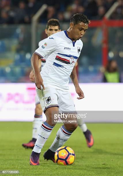 Luis Muriel of Sampdoria during the Serie A match between FC Crotone and UC Sampdoria at Stadio Comunale Ezio Scida on November 27 2016 in Crotone...
