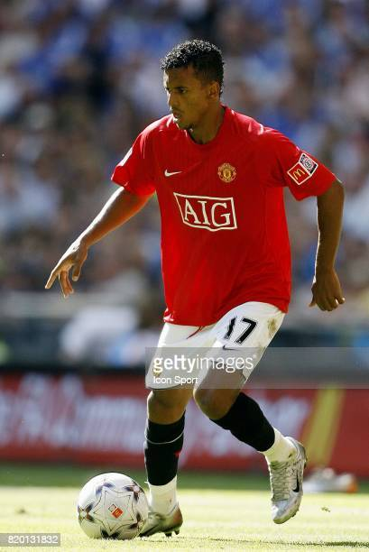 Luis NANI Manchester United / Chelsea Community Shield Wembley Londres