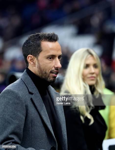 Luis Nene attends the Ligue 1 match between Paris Saint Germain and Lille OSC at Parc des Princes on December 9 2017 in Paris