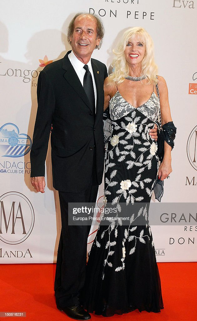 Luis Ortiz and Gunilla Von Bismarck attend the Global Gift Gala 2012 a party held by Cesare Scariolo Foundation and Eva Longoria Foundation to raise...