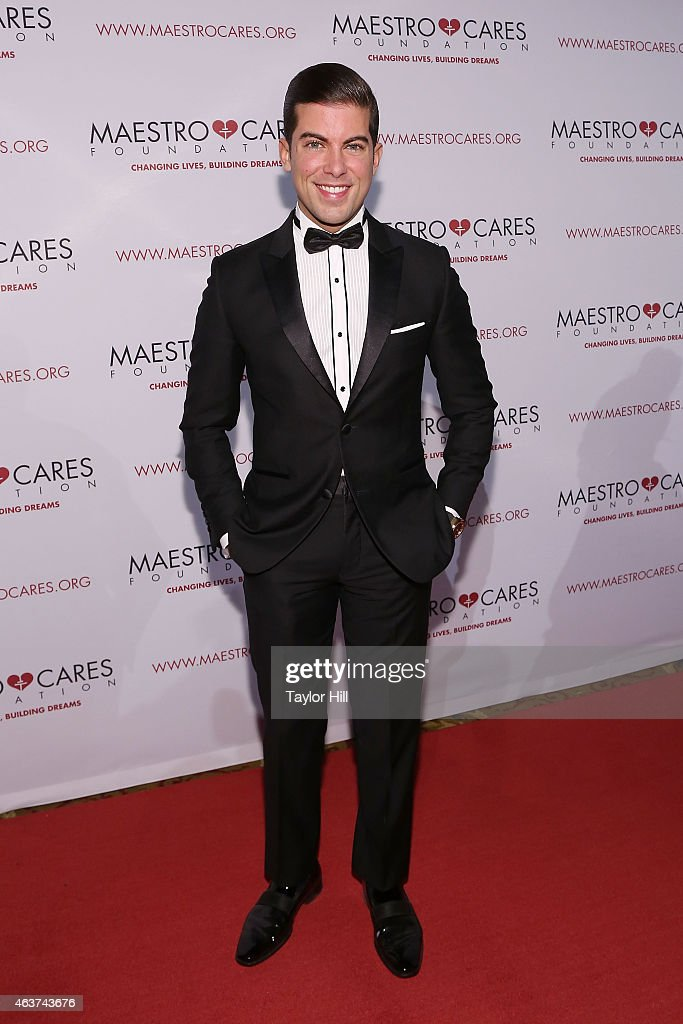 Luis Ortiz attends the 2015 Maestro Cares Gala at Cipriani Wall Street on February 17, 2015 in New York City.