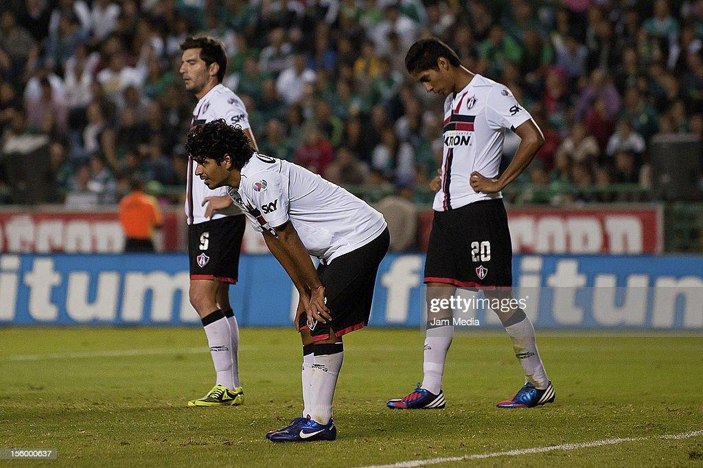 MEX: Leon v Atlas - Apertura 2012 Liga MX