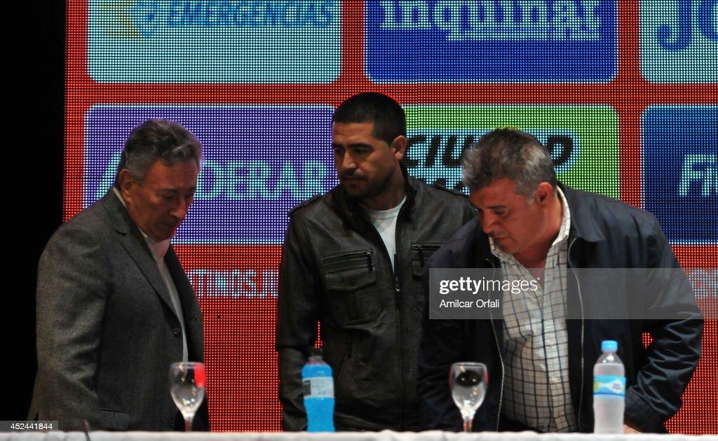 Argentinos Jrs Unveils Juan Roman Riquelme