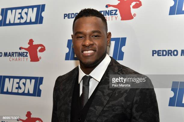 Luis Severino attends the 2nd Annual Pedro Martinez Charity Gala at The Colonnade Boston Hotel on November 3 2017 in Boston Massachusetts
