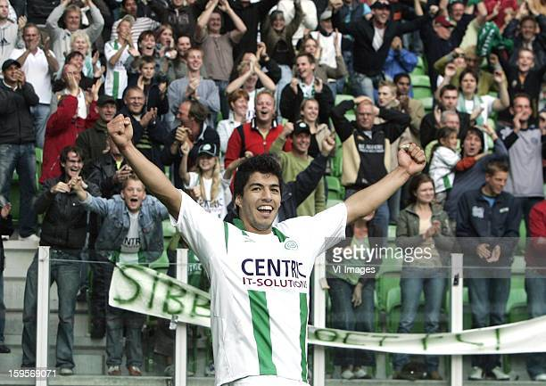 Luis Suarez during the Dutch Eredivisie match between FC Groningen and Vitesse Arnhem on October 01 2006 at Groningen Netherlands