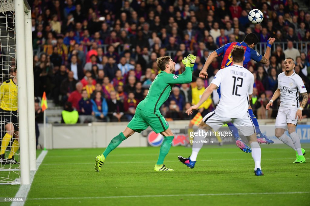 Fc Barcelona v Paris Saint-Germain - Uefa Champions League Round of 16 : Second Leg : News Photo