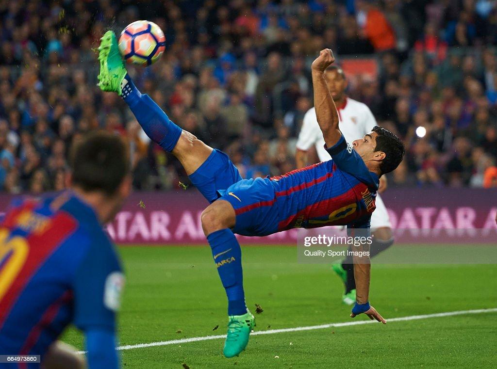 FC Barcelona v Sevilla FC - La Liga : News Photo