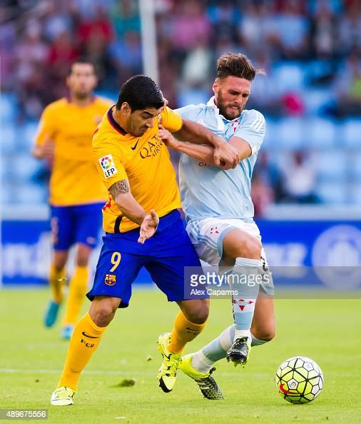 Celta Vigo Vs Barcelona Direct: Sergi Gómez Stock Photos And Pictures