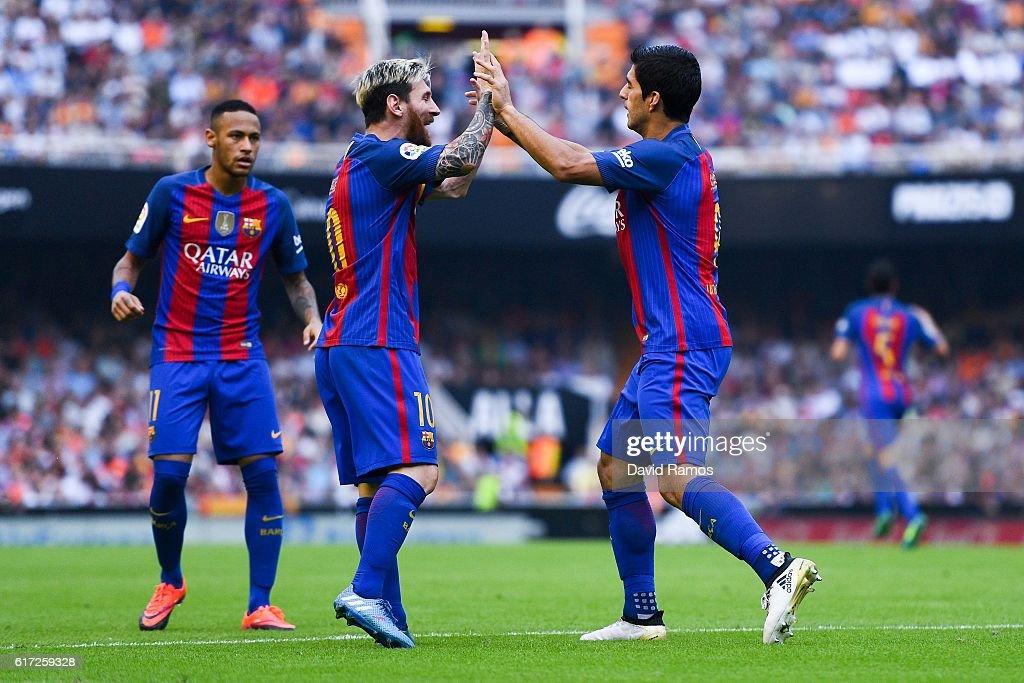 Messi, Suarez, Neymar