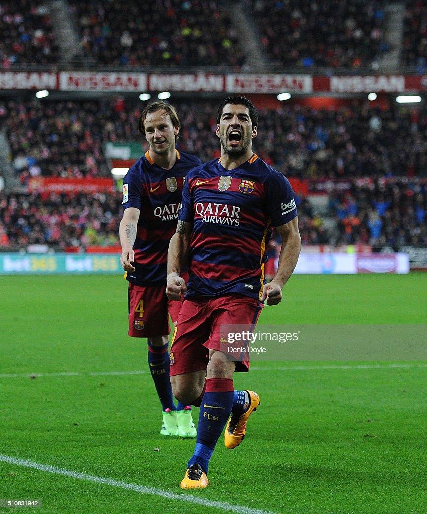 Sporting Gijon v FC Barcelona - La Liga
