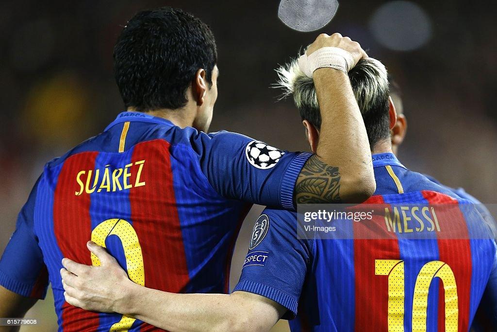 UEFA Champions League'FC Barcelona v Manchester City' : News Photo
