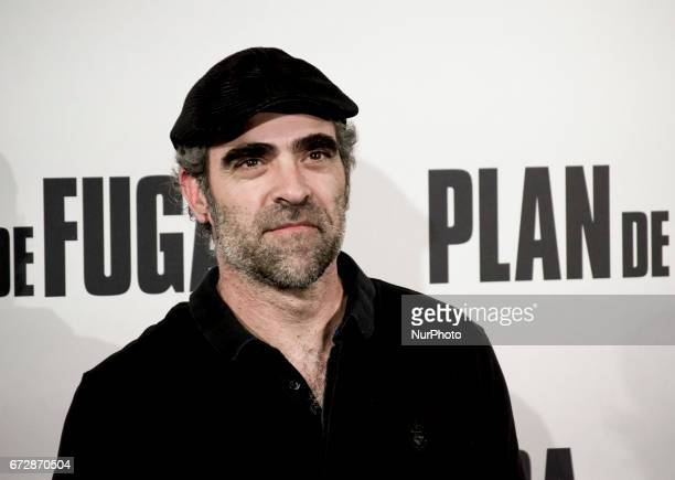 Luis Tosar attends a photocall for 'Plan de Fuga' at NH Collection Madrid Suecia Hotel on April 25 2017 in Madrid Spain