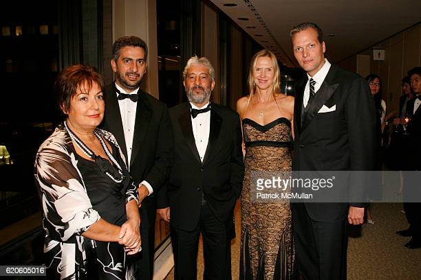 Luisa Anna Depau Salvatore Mereu Guest Susan Duffy and Marc Hruschka attend CHOPARD sponsors NEW YORK FILM FESTIVAL Opening Night at Avery Fisher...
