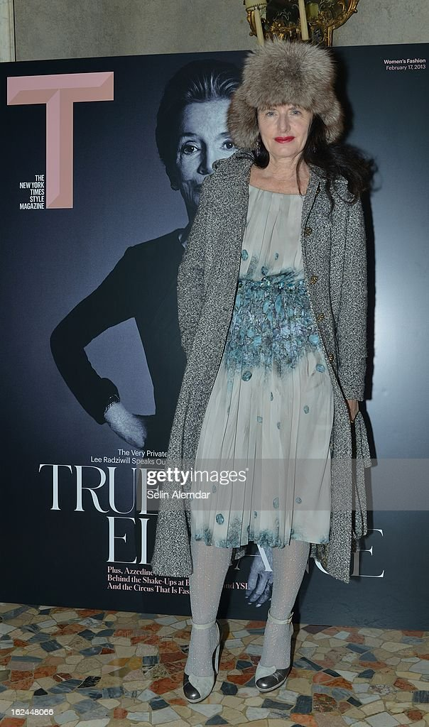 Luisa Beccaria attends Deborah Needleman's New York Times inaugural issue party during Milan Fashion Week Womenswear Fall/Winter 2013/14 on February 23, 2013 in Milan, Italy.